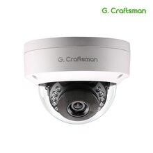 G. artesão 5MP POE IP HD Câmera Ao Ar Livre À Prova D Água Infrared Night Vision Onvif 2.6 CCTV Segurança Vigilância Vídeo P2P E mail