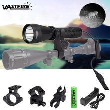 цена на IR night vision Flashlight 10W 940nm LED Zoomable Luz infrared radiation tactical Flashlight hunting torch 18650