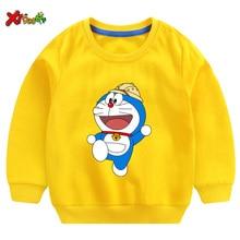 Children Cute Sweatshirt White Sweatshirt for Boys Sweatshirts Hoodies Sweatshirts Girls Kids Cotton Tops Baby Autumn Clothes все цены