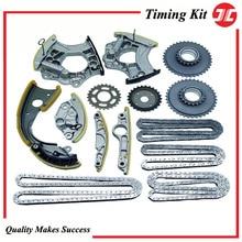 AD07 JC ชุดโซ่/ส่วนประกอบสำหรับรถยนต์ Audi C6 2.8L/3.0T V6 2009/Q5 3.2L/a6 Quattro 3.0T/Audi A6 A8อะไหล่เครื่องยนต์