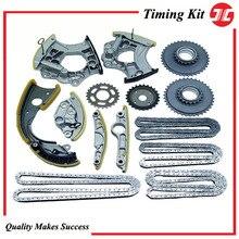 TCK1207-JC Timing chain kit for car Audi C6 2.8L 3.0T V6 Engine spare parts