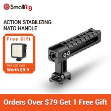 SmallRig NATO Rail Handle Grip With Mounting Points Shoe Mounts for Cameras/ Camcorder/ Action Camera/Camera Cages-1955(China)