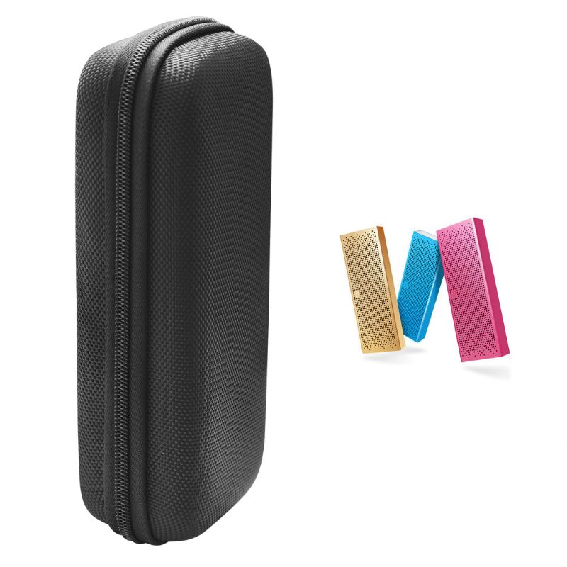 Travel Hard EVA Zipper Case Protective Sleeve Storage Bag Pouch for Xiaomi Mi Bluetooth Speaker and cable DXAC image