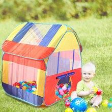 Children Ideal Birthday Xmas Gift Girls Boys Ocean Balls Castle for Birthday Gift Indoor Play House Tube Play Funny