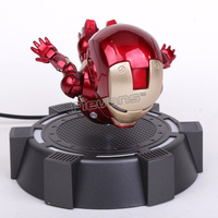 IRON MAN MK MAGNETIC FLOATING ver. with LED Light Action Figure Collection Toy