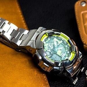 Ремешок для часов Casio G-SHOCK, ободок для часов 316L из нержавеющей стали, аксессуары для модификации, ремешок для часов Ga-100/110/120
