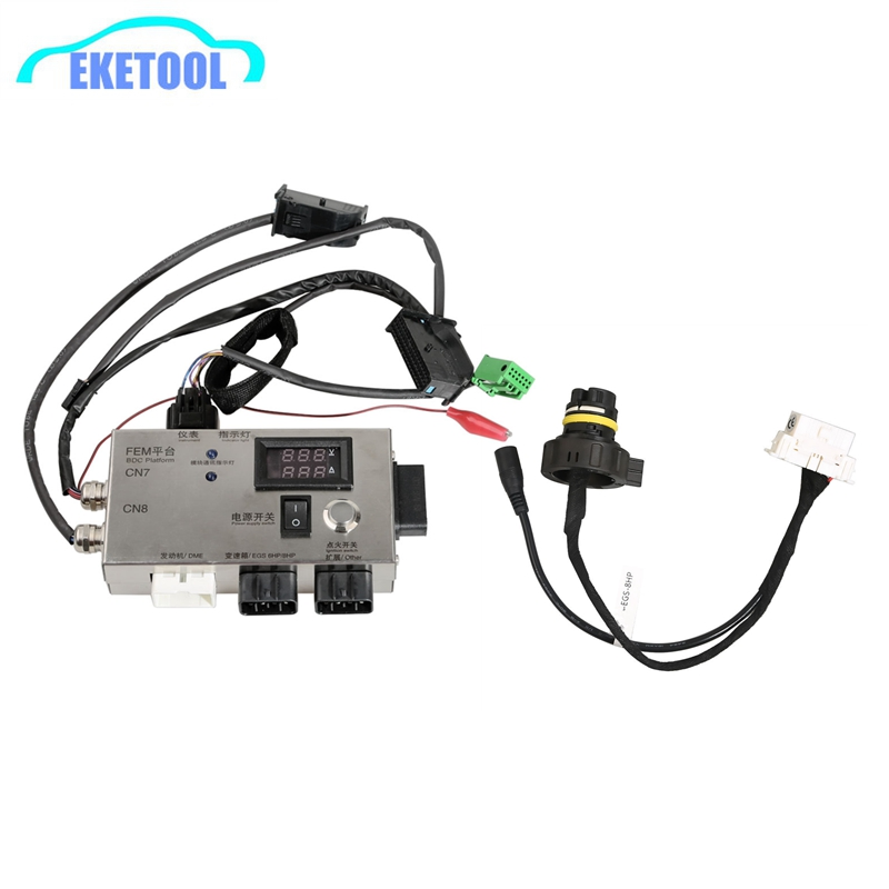 For BMW FEM/BDC For BMW F20 F30 F35 X5 X6 I3 Best Module Test Platform Without Gearbox Plug 8HP Detect FEM BDC Control Tester
