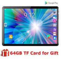 2020 Super hartowane 2.5D ekran 10 cal tablet PC system operacyjny Android 9.0 czterordzeniowy w 2GB pamięci RAM i 32GB ROM Wifi Tablet GPS z darmowe upominki