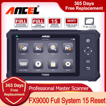 Auto-Diagnostic-Tool IMMO Workshop Automotive-Scanner Ancel Fx9000 All-System OBD2 Wifi