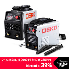 DEKO DKA Series DC Inverter ARC Welder 220V IGBT MMA Welding Machine 120/160/200/250 Amp for Home Beginner Lightweight Efficient(China)