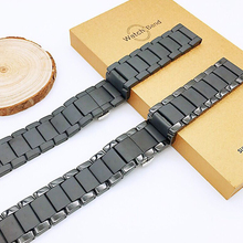 18mm 20mm 22mm Ceramic Strap Watchband for Samsung Galaxy Wa