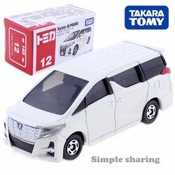 Takara Tomy Tomica Toyota Alphard Car 1/65 No.12 Kit Modelo de Escala Em Miniatura DieCast Brinquedos Dos Miúdos Hot Engraçado Bonecas Colecionáveis