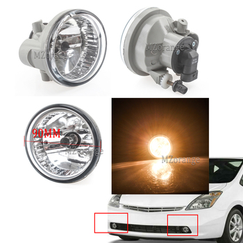 цена на led/halogen Front Fog Lights Car lights Fog lamps for Toyota Prius 2004-2009 for Highlander Echo MR2 Spyder Scion xA 2002 - 2009
