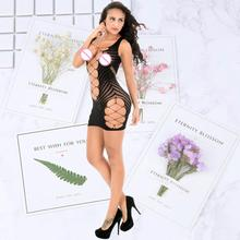 Women Sexy exotic lingerie Skirts See Through Transparent Short Mini Skirt Night Club Tight Package Hip