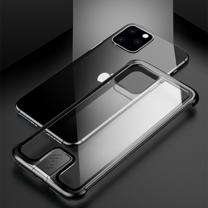 Image 5 - Armor Metal Bumper Case For iPhone 11 Pro Max Case Pull Plus Tempered Glass Highly Shockproof Cover For iPhone 11 Pro Coque Case
