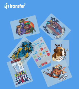 A3 PET Film 100 sheets DTF Garment T shirts Printing Film Textiles Transfer Paper Direct Transfer DTF Films 1