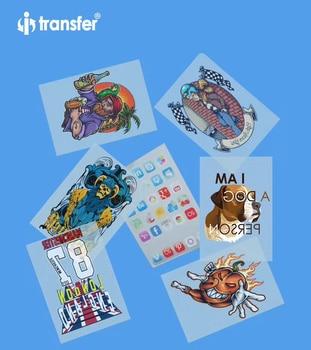 A3 PET Film 100 sheets DTF Garment T shirts Printing Film Textiles Transfer Paper Direct Transfer DTF Films 1