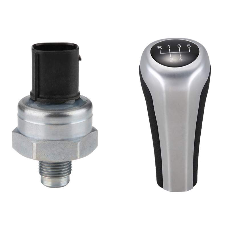 Dsc Brake Pressure Sensor Switch with Car 5 Speed Gear Shift Knob Automatic Gear Knob