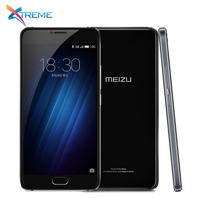 Original MEIZU U20 Telecom version ROM 3GB RAM 16GB ROM Cell Phone 5.5 inch octa-core Fast Charging Mobile Phone 1