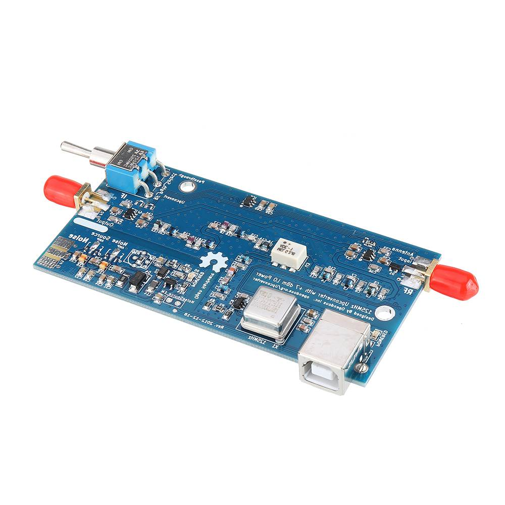 LEORY 1PCS 125MHz SDR Upconverter ADE FOR RTL2832+ R820T2 Receiver HackRF One Development Board Circuits