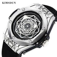 KIMSDUN New Top Luxury Brand Men Watch Relogio Masculino Multi-functional reloj Fashion Casual Waterproof Quartz