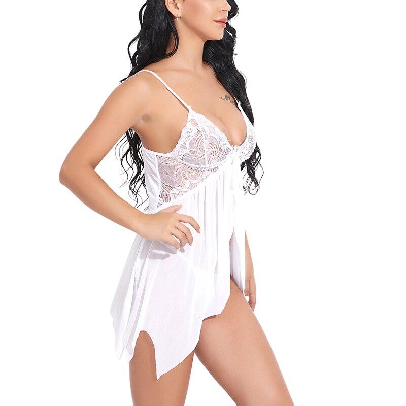 Nuisette Robe de nuit en dentelle Sexy