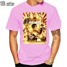 Once Upon A Time In Hollywood Retro Poster Black T-Shirt Usa Size S M L Xl 2Xl Funny Design Tee Shirt