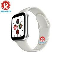 Смарт-часы для мужчин и женщин, 44 мм, монитор сердечного ритма, серия 5, спортивные Смарт-часы для Apple Watch iOS 9 10, iPhone 8, Android Phone, pk iwo