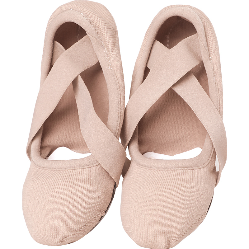 Women Stretch Ballet Shoes Ballet Slippers Professional Elastic Ballet Shoes Adult Women Yoga Gym Gymnastics Danceing Shoes