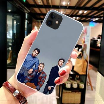 Phone Case For iPhone 5C 5 5S SE 7 8 plus X XS XR XS MAX 11 11 pro 11 Pro Max Nick Joe Kevin Jonas Brothers Coque Shell image
