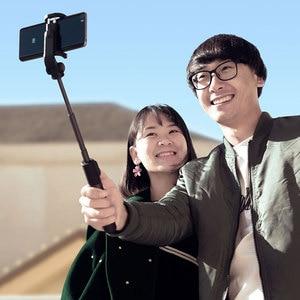 Image 2 - Xiaomi Selfie スティック折りたたみ三脚拡張可能なハンドヘルド一脚の Bluetooth ワイヤレスリモートシャッター Ios の Android 携帯電話
