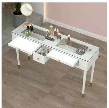 Manicure table and chair set specials Nordic single double online celebrity simple luxury paint nail table specials