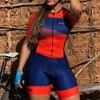 Macacão de verão feminino, roupa de ciclismo, equipe ciclopp, uniforme de bicicleta, triathlon, terno para corrida, kit de roupa de praia 9