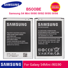 SAMSUNG Original Battery B500BE 1900mAh For Samsung S4 mini I9190 i9192 I9195 I9198 Replacement batteries with NFC 4 pins