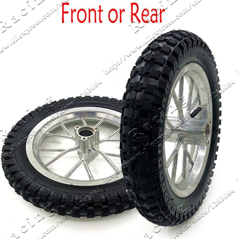 """Black 12-1//2/"""" 12/"""" 5-spoke Mag Scooter Front Wheel BMX"""
