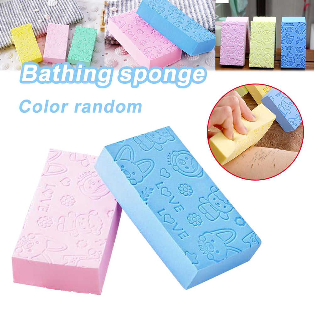 Bath Sponge Lace Printed Scrub Shower Baby Bath Scrubber Exfoliating Beauty Skin Care Sponge Face Cleaning Spa Bath Ball 1pc 3