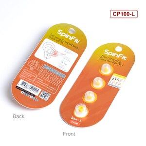 Image 5 - 1 paar (2 stücke) NICEHCK SpinFit CP100 CP100M CP800 CP220 M2 In ohr Kopfhörer Patentierte Silikon Eartip Innovative Technologie Eartip