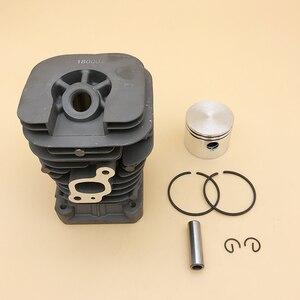 Image 1 - HUNDURE 41.1mm piła łańcuchowa cylinder i tłok assy dla partnera 350 Partner 351 benzyna części zamienne do piły łańcuchowej