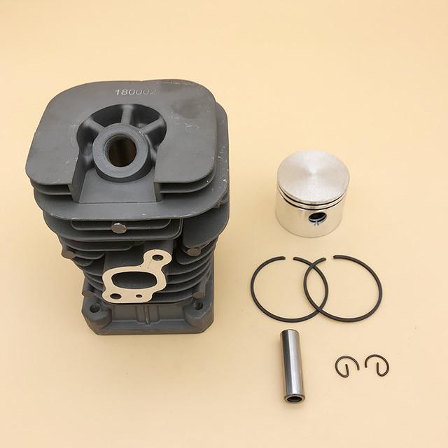 HUNDURE Juego de pistón y cilindro de motosierra de 41,1mm para Partner 350 Partner 351, piezas de repuesto de motosierra de gasolina