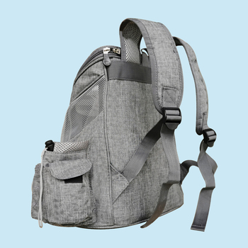 Portable mesh Dog/Cat Bag Breathable Dog Backpack Large Capacity Cat Carrying Bag Portable Outdoor Travel Pet Carrier 4