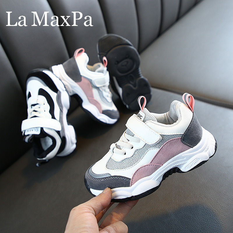Children's Sports Shoes Girls Boys Casual Breathable Sneakers Toddler Casual Footwear Fashion Kids Sneakers Baby Shoes
