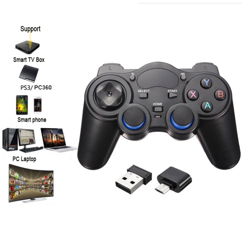 2.4G Android Gamepad Wireless Gamepad Joystick Android Controller for Tablet PC Smart TV Box for Samsung Xiaomi image