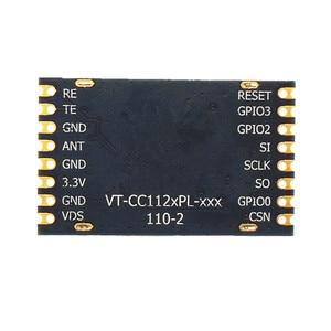 Image 2 - VT CC1120PL 433Mhz 狭帯域デジタル SPI インタフェースチップ型工業用グレード 3000 メートル RF モジュール CC1120