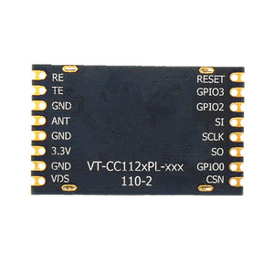 Image 2 - VT CC1120PL 433Mhz narrowband digital SPI interface chip type industrial grade 3000m RF module CC1120