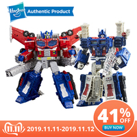 Hasbro Transformers Toys Generations War for Cybertron Siege Leader WFC S40 Galaxy Upgrade Optimus Prime Shockwave Ultra Magnus