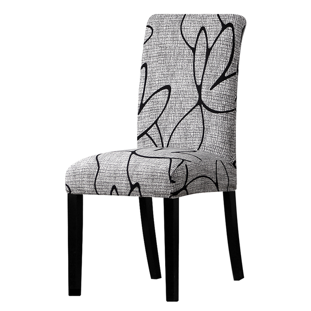 Colorful Patterned Elastic Chair Cover 3