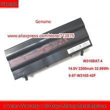 Battery Laptop W310BAT-4 Original for Clevo W310cz/Zoostorm/7270-9062/..