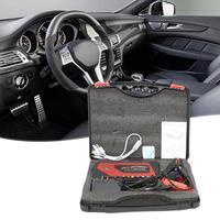 Przenośny mini prostownik do samochodu awaryjne urządzenie rozruchowe porty USB zasilanie mobilne dla ładowarka baterii do telefonu w Urządzenie rozruchowe od Samochody i motocykle na