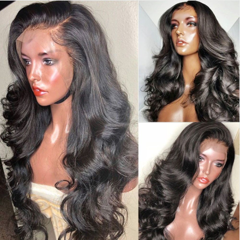 Eversilky Brazilain Remy Hair Glueless Pre Plucked 4x4 Silk Top Full Lace Human Hair Wig Body Wave Wig Human Hair With Baby Hair