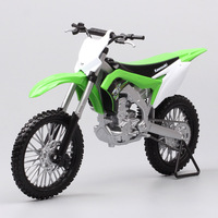 1:10 scale Welly Big Large Kawasaki KX 250F Motocross Enduro offroad racing dirt bike diecast model Vehicle motorcycle toy thumbnails for hobby collection Replicas